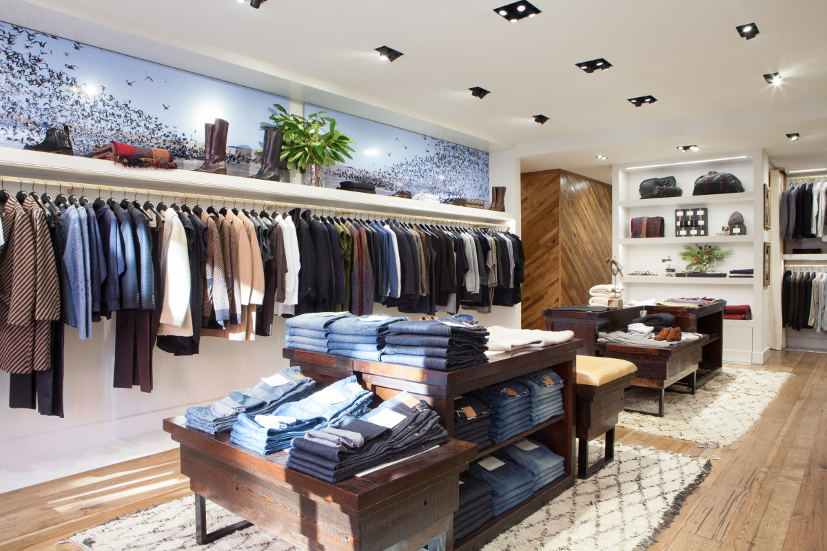 Billy Reid's Charles Street boutique. Photo: Courtesy