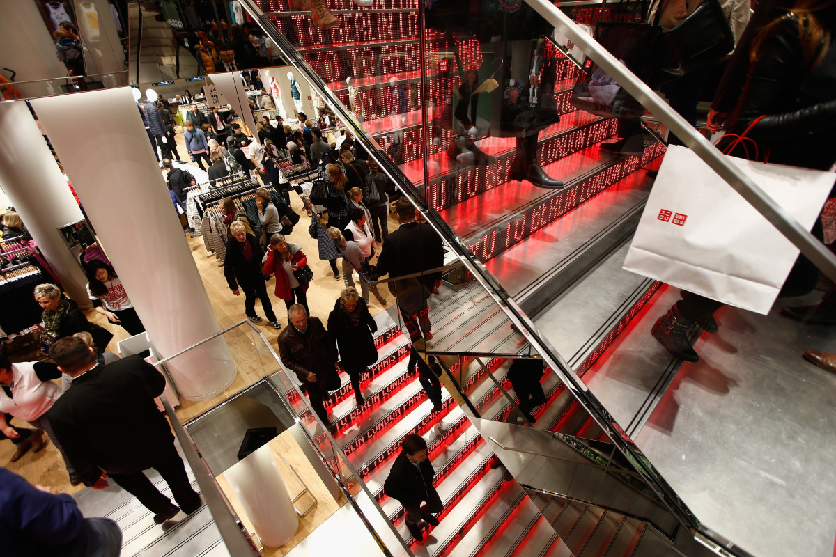 A Uniqlo store. Photo: Andreas Rentz/Getty Images