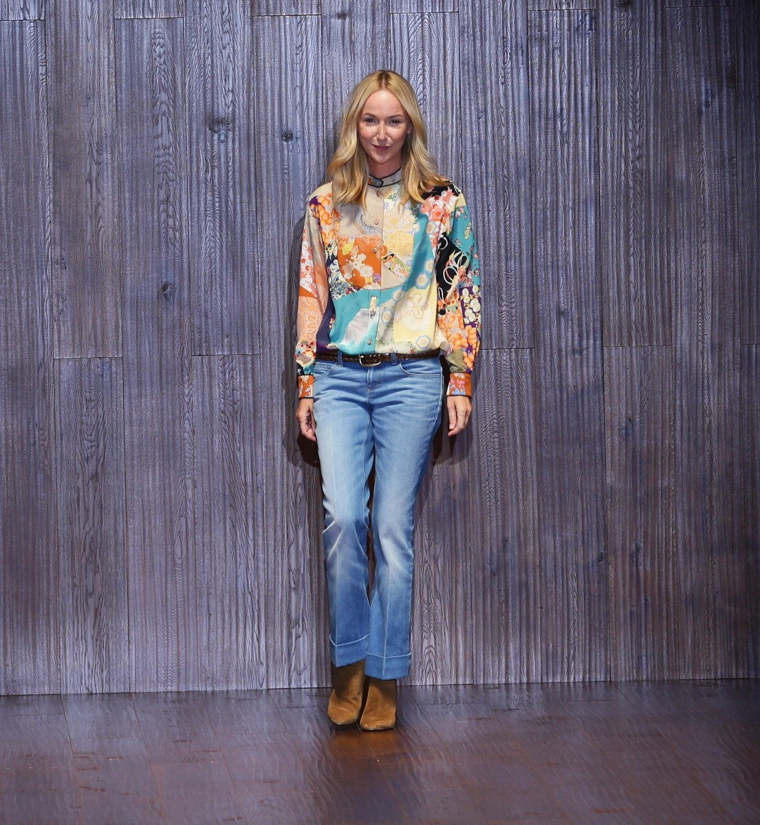 Giannini at Gucci's spring 2015 show in September. Photo: Vittorio Zunino Celotto/Getty Images
