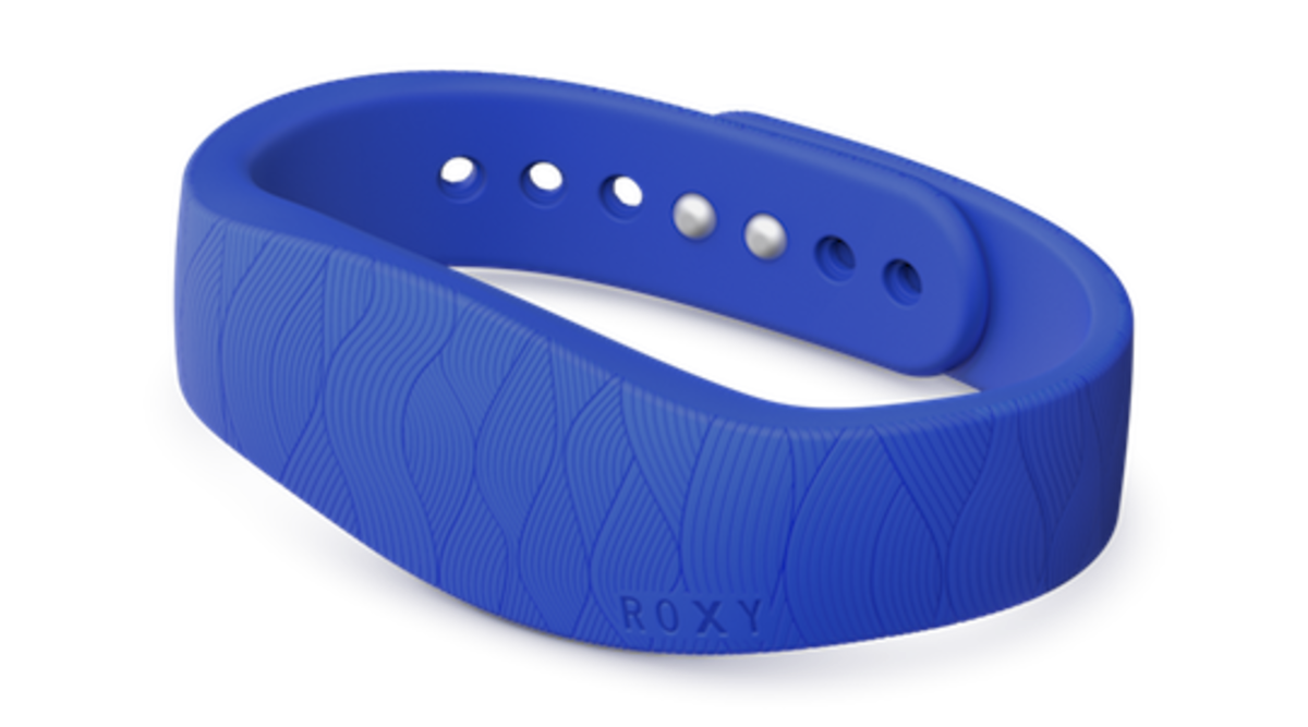 Sony Smartband collaboration with Roxy. Photo: Sony
