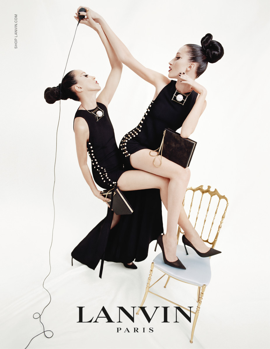 Anna Cleveland and Pat Cleveland in the Lanvin spring campaign shot by Tim Walker. Photo: Courtesy Lanvin