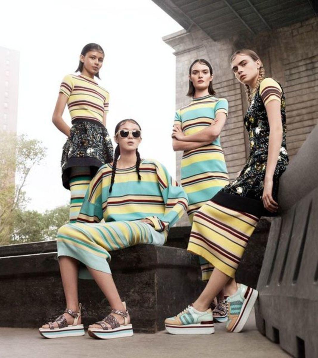 So many stripes. Photo: DKNY