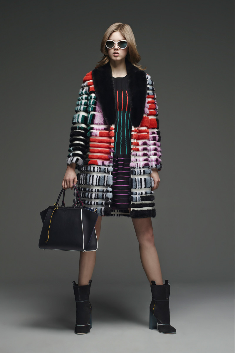 A look from Fendi's pre-fall 2015 collection. Photo: Fendi