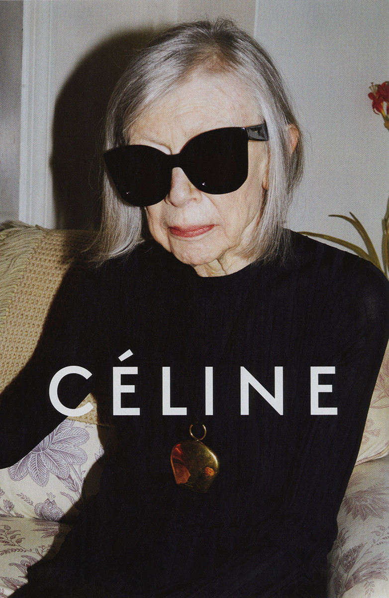 The face that launched a thousand re-blogs. Photo: Juergen Teller for Céline