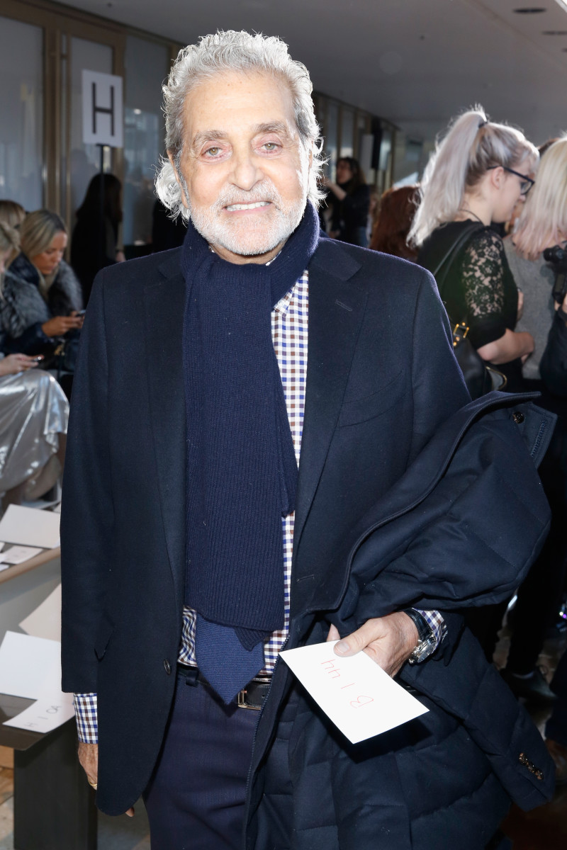Designer Vince Camuto at the Tory Burch show in February. Photo: Cindy Ord/Getty Images for Mercedes-Benz Fashion Week