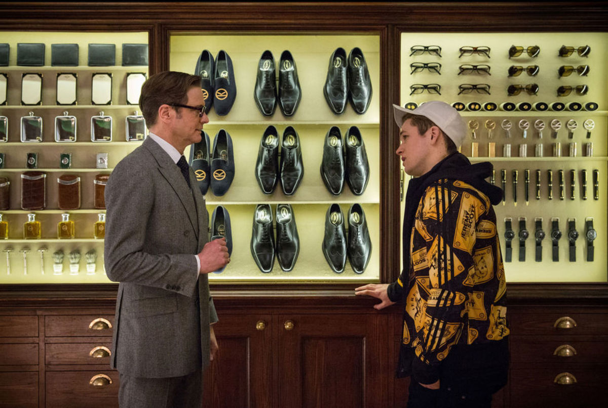 "A scene from ""Kingsman: The Secret Service."" Photo: Allstar/20th Century Fox"