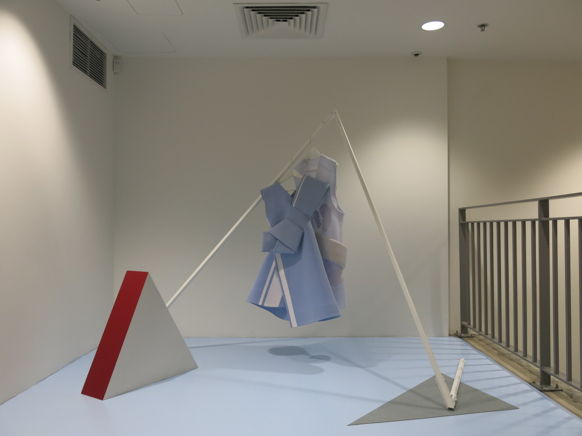 Andrea Jiapei Li's installation at Dover Street Market New York. Photo: Dover Street Market New York