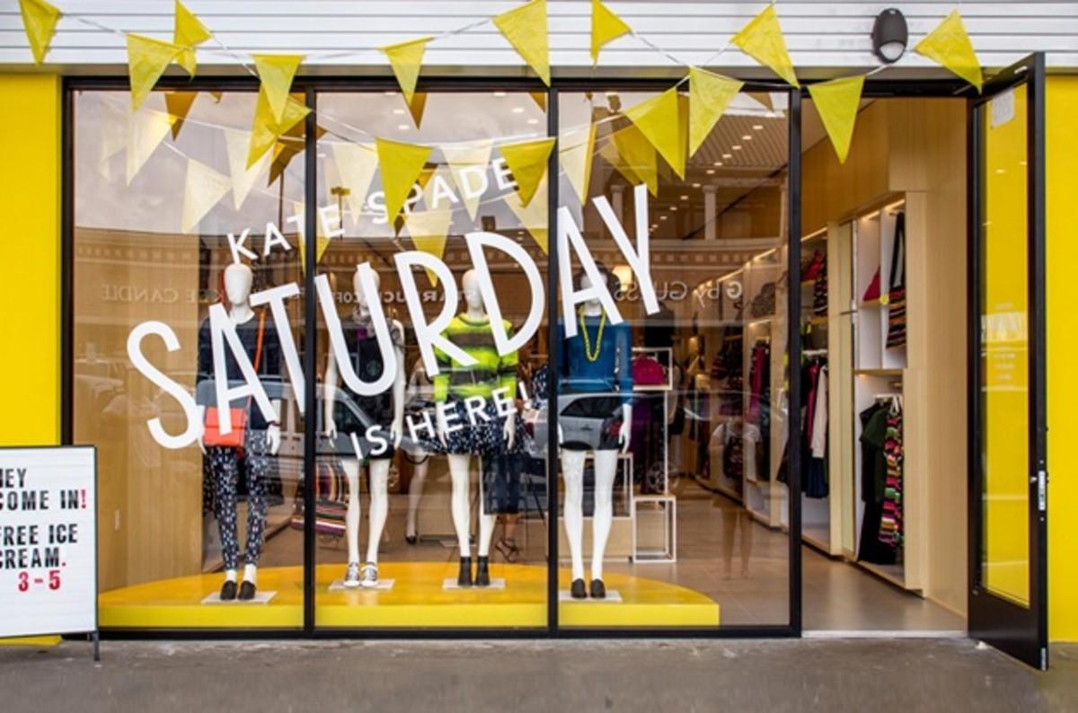 Kate Spade Saturday's Houston store. Photo: Kate Spade