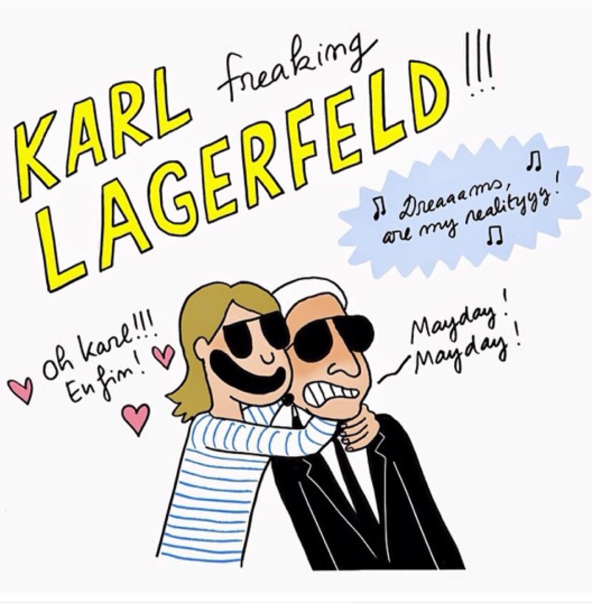 Karl Lagerfeld. Photo: Instagram/@karllagerfeld