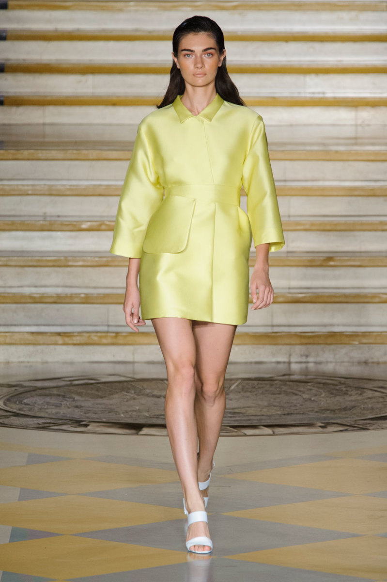 A look from Emilia Wickstead's spring 2015 show. Photo: Imaxtree