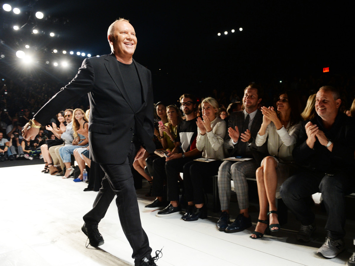 Kors takes a bow. Photo: Dimitrios Kambouris/Getty Images