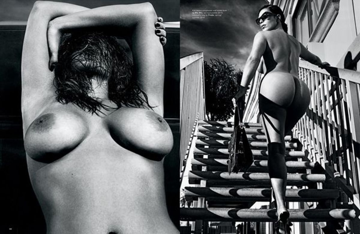 Leaving not much to the imagination... Photo: Steven Klein