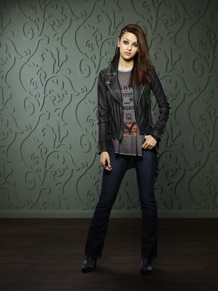 Goth Rebecca. Photo: ABC/Craig Sjodin