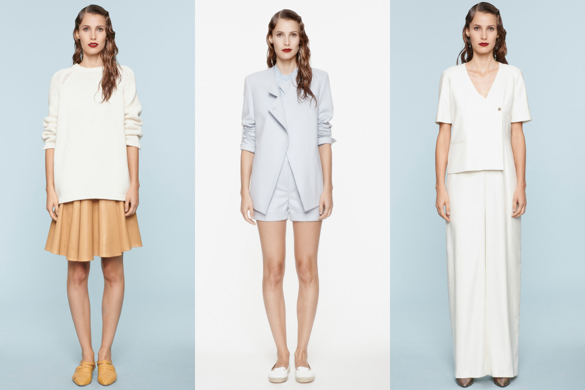 Looks from À Moi Spring 2015. Photos: Courtesy