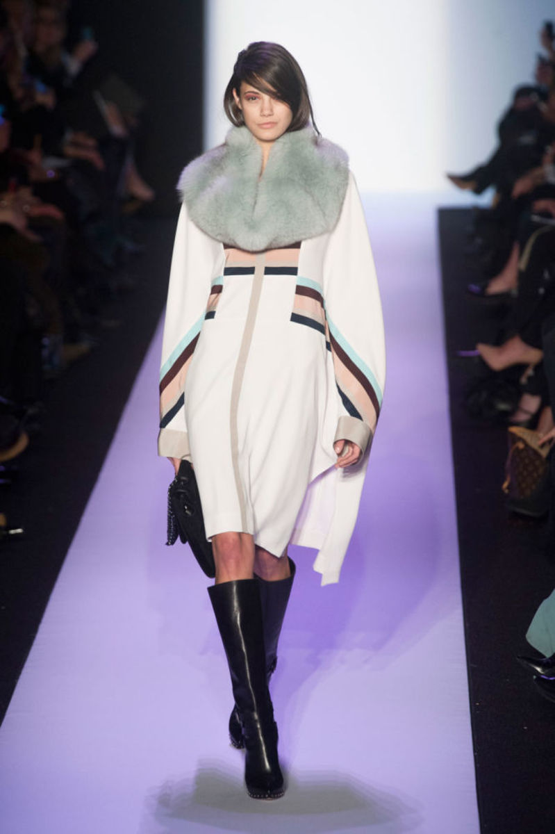 A look from BCBGMaxAzria's fall 2014 collection. Photo: Imaxtree