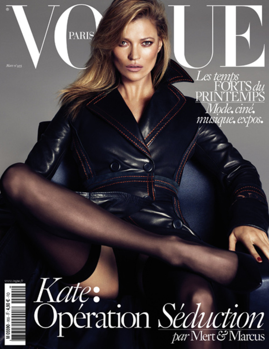 Kate Moss. Photo: Vogue Paris/ Mert & Marcus