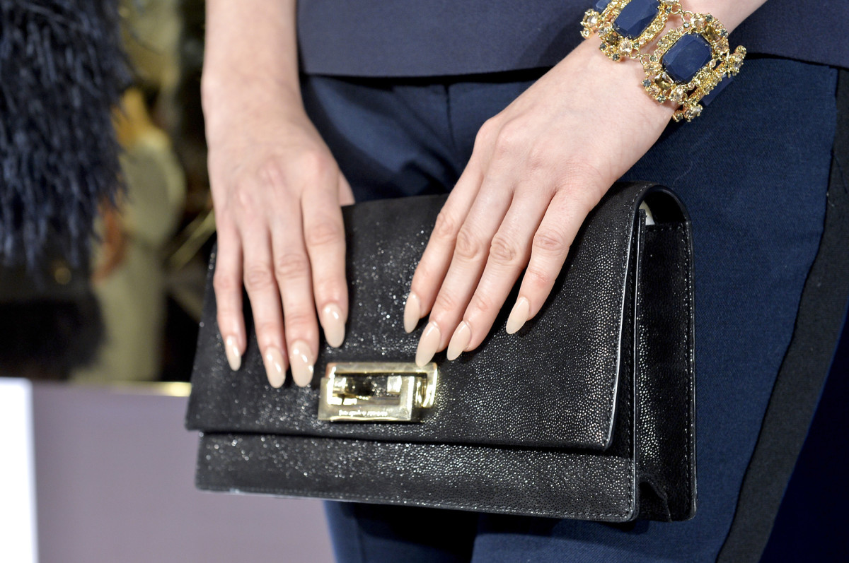 The look Deborah Lippmann created at Kate Spade's presentation in February 2014. Photo: Imaxtree
