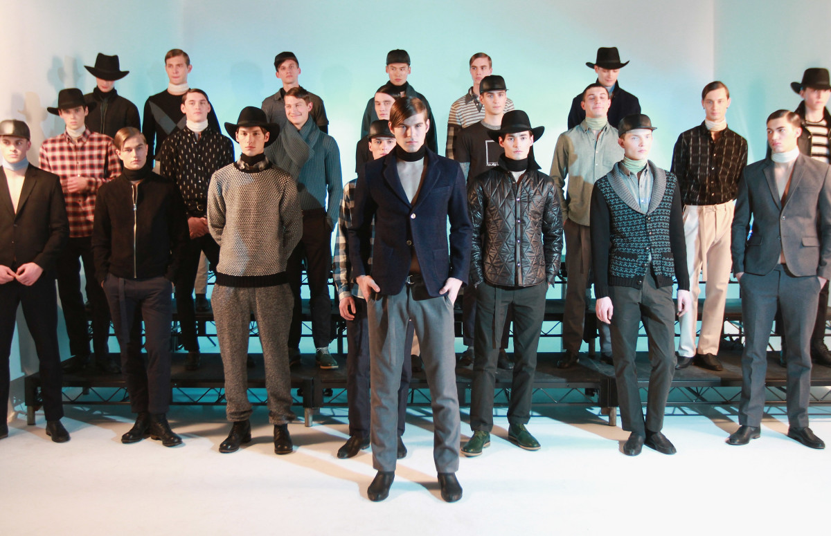 Lucio Castro's fall/winter 2014 collection presentation at New York Men's Day in February 2014. Photo: Jerritt Clark/Getty Images