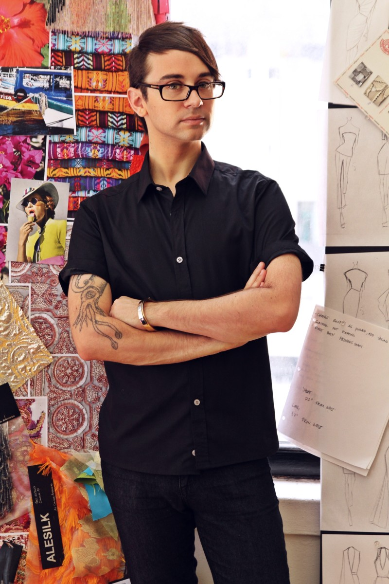 Designer Christian Siriano. Photo: Christian Siriano