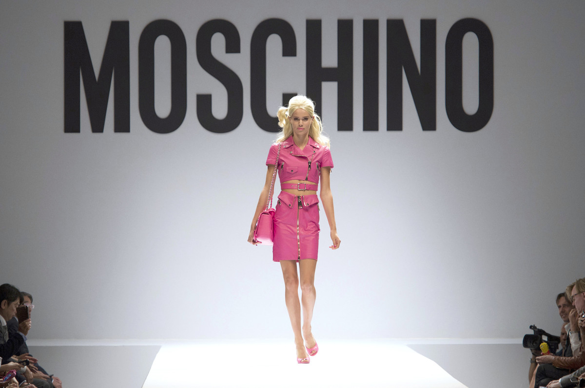 Moschino's Barbie-inspired spring 2014 collection. Photo: Imaxtree