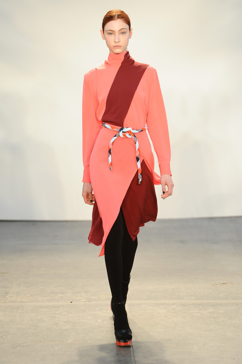 A look from Tanya Taylor fall 2015. Photo: Ron Adar/Getty Images