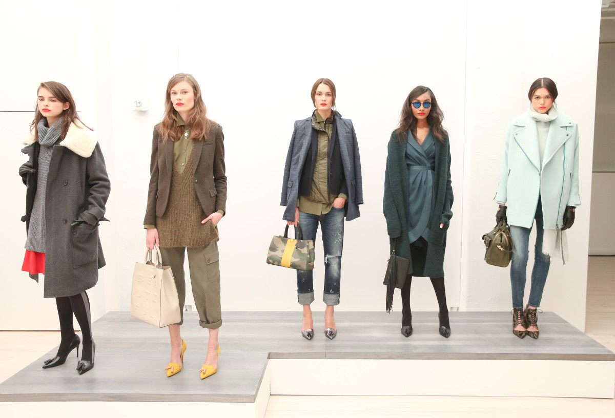 Banana Republic's Fall 2015 presentation. Photo: BFA