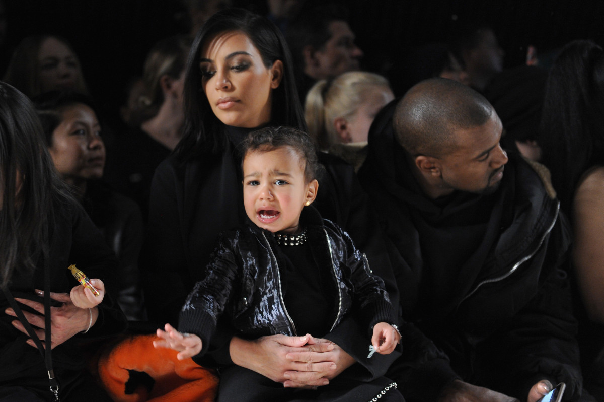 Just another Kardashian-West family outing. Maybe Chuck E. Cheese's next time? Photo: Craig Barritt/Getty Images