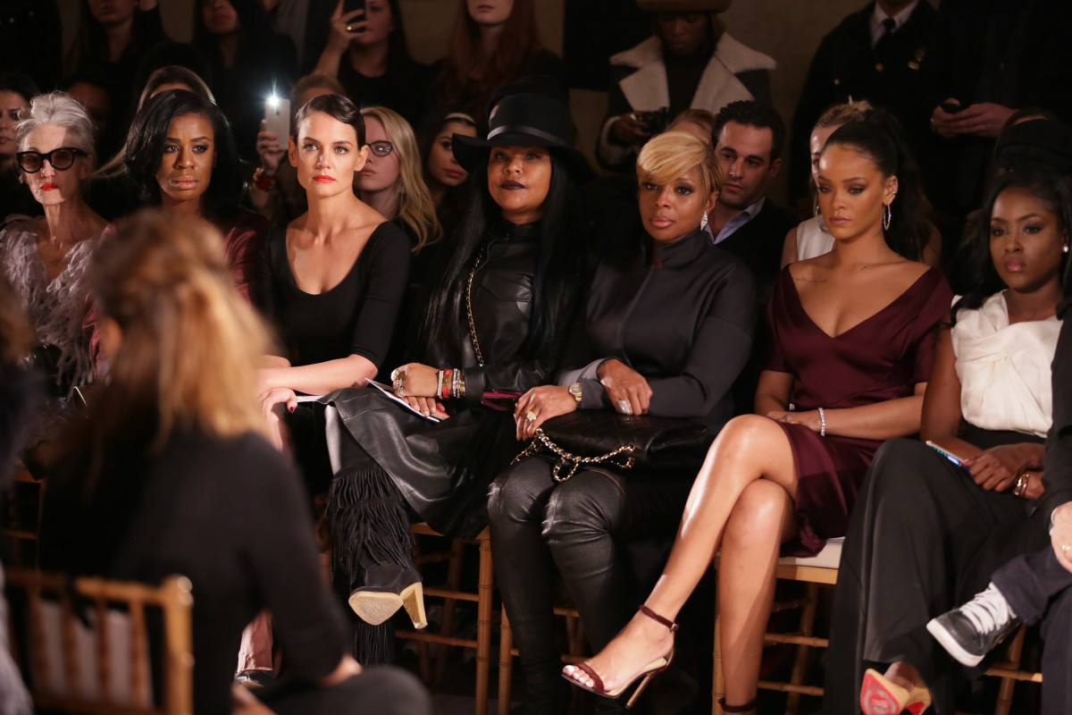 Rihanna and Naomi Campbell Steal the Show at Zac Posen