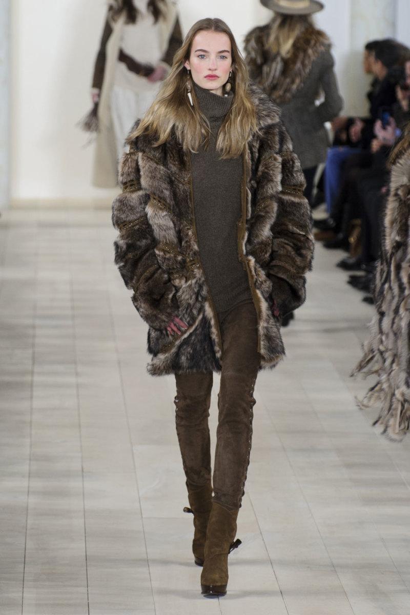 ralph lauren makes a statement against fur fashionista