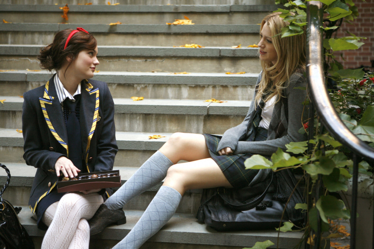 Blair Waldorf and Serena van der Woodsen: On trend since 2007. Photo: CW