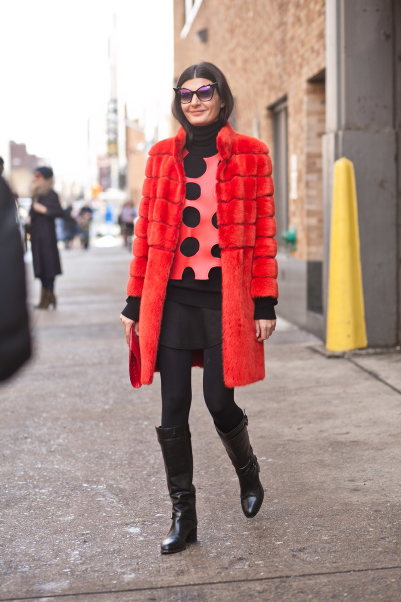 W's Giovanna Battaglia. Photo: Kevin Kim/Fashionista