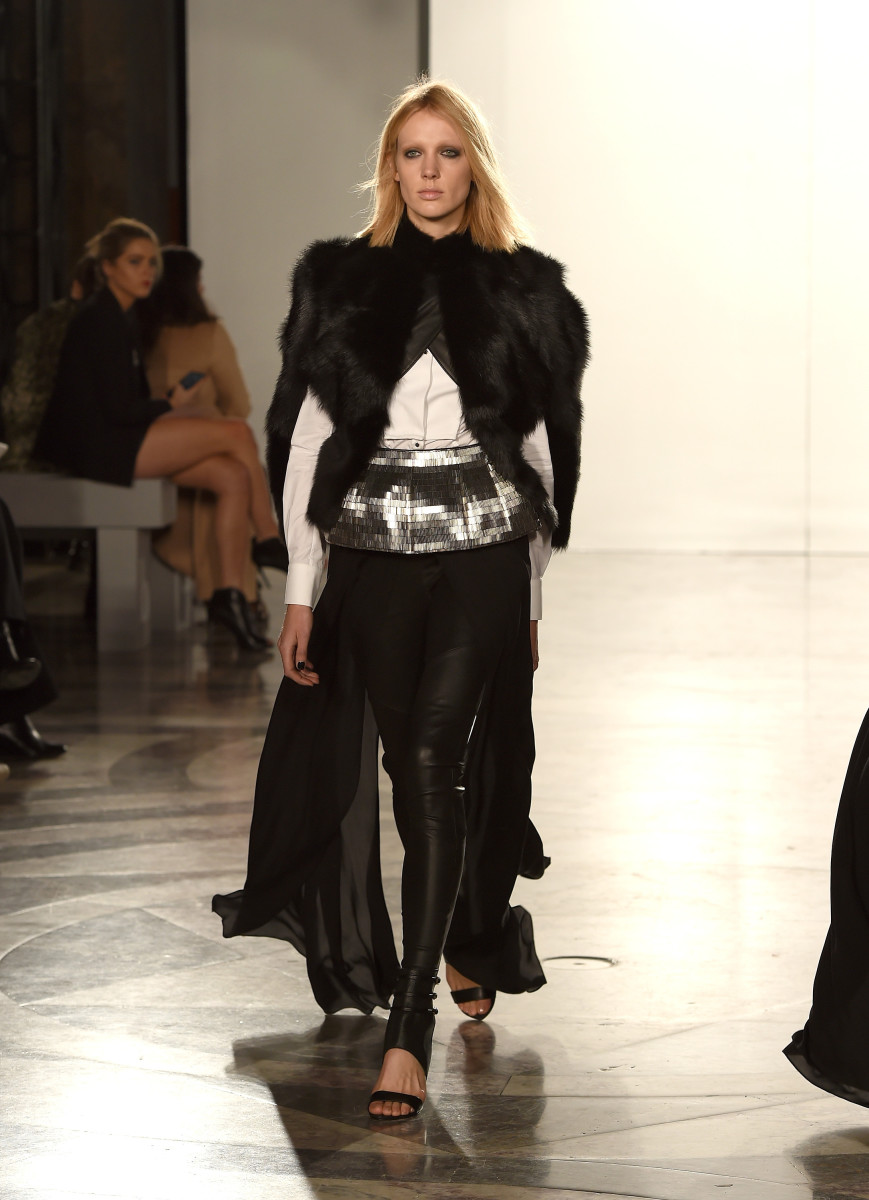 A look from Sass & Bide's fall 2015 collection. Photo: Ben A. Pruchnie/Getty Images