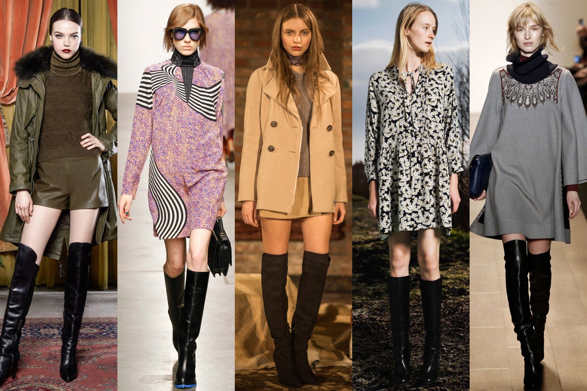 The over-the-knee boot as seen this season.