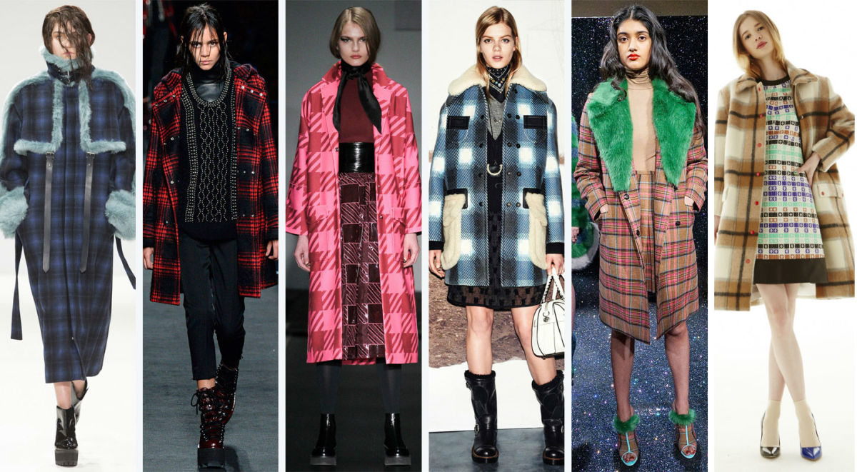 From left to right: Jamie Wei Huang, Alexander Wang, House of Holland, Coach, Shrimps and Novis. Photos: Imaxtree