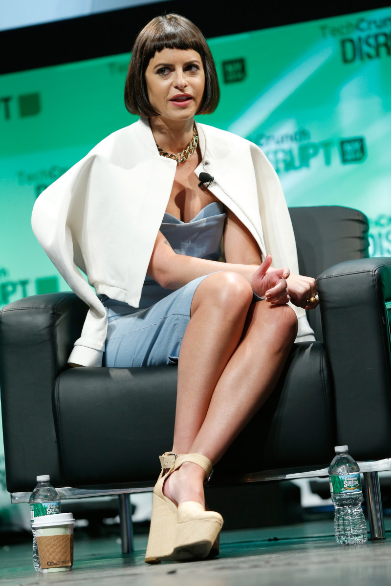 Nasty Gal founder Sophia Amoruso at TechCrunch Disrupt last May. Photo: Brian Ach/Getty Images