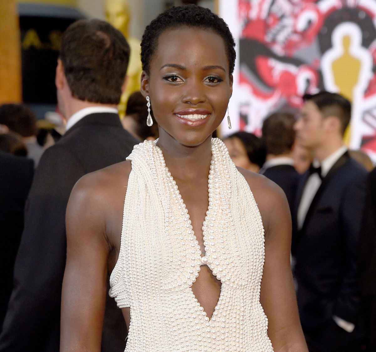 Lupita Nyong'o at the 2015 Oscars. Photo: Kevork Djansezian/Getty Images