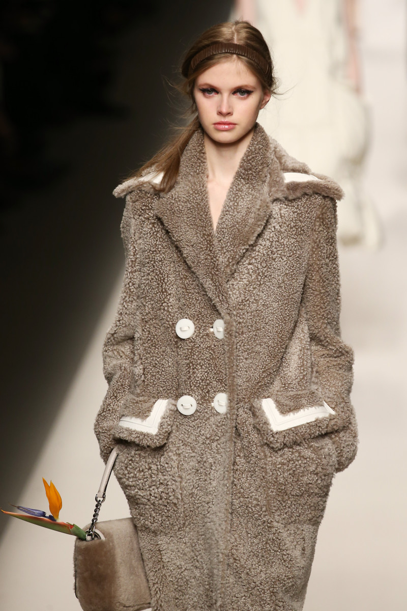 A look from the Fendi fall 2015 collection. Photo: Andreas Rentz/Getty Images