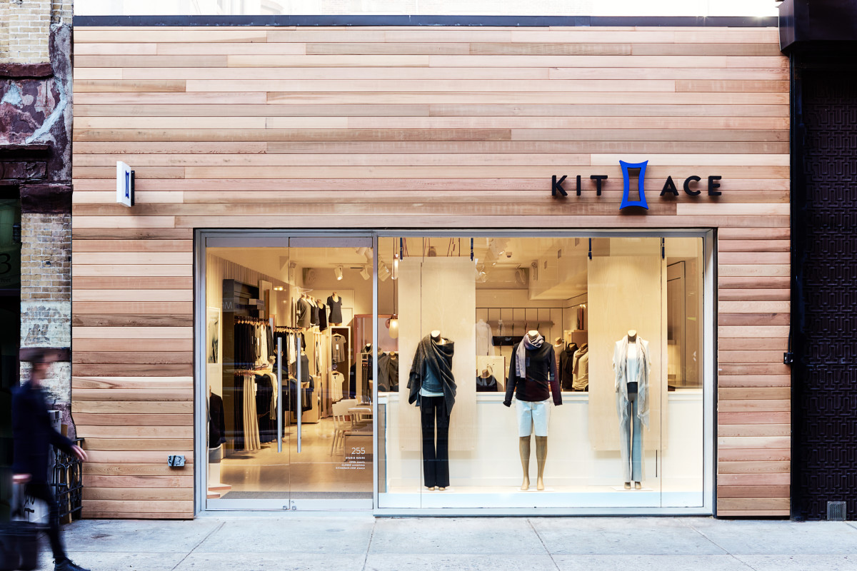 The Nolita storefront. Photo: Kit and Ace