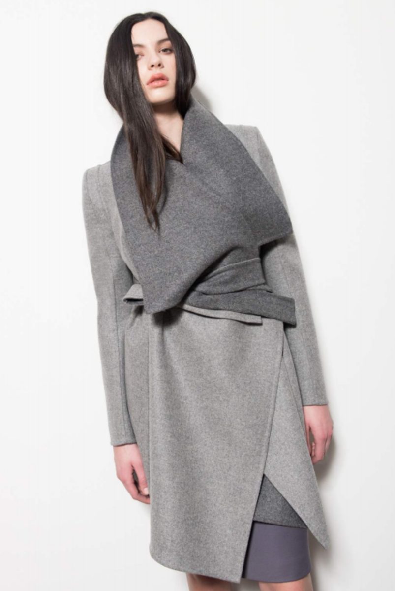 A look from Karolina Zmarlak's pre-fall 2015 collection. Photo: Karolina Zmarlak