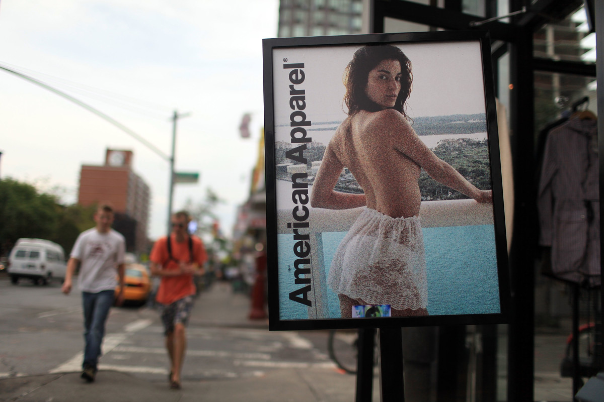 An American Apparel store. Photo: Spencer Platt/Getty Images