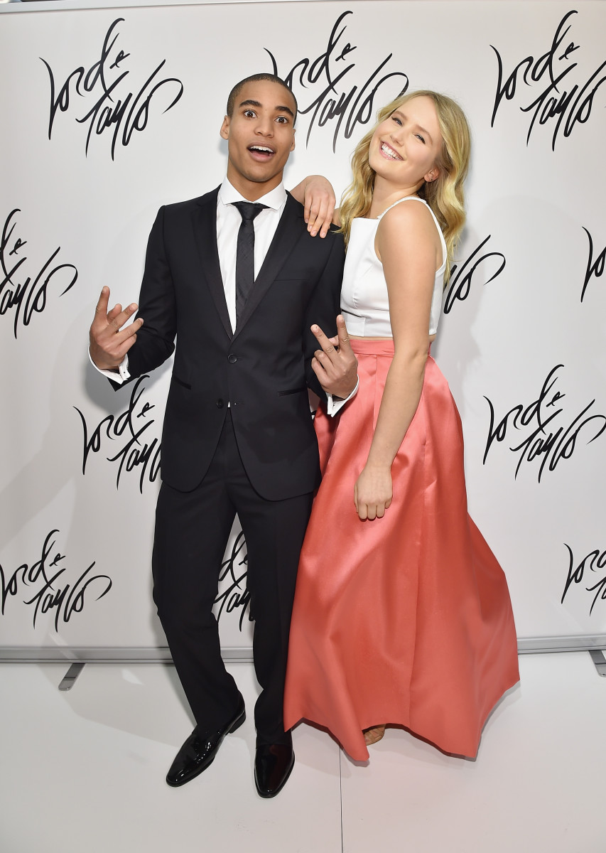 Prom King Malik Lindo and Prom Queen Sailor Brinkley Cook. Voting might have been a little bit rigged. Photo: Mike Coppola/Getty Images