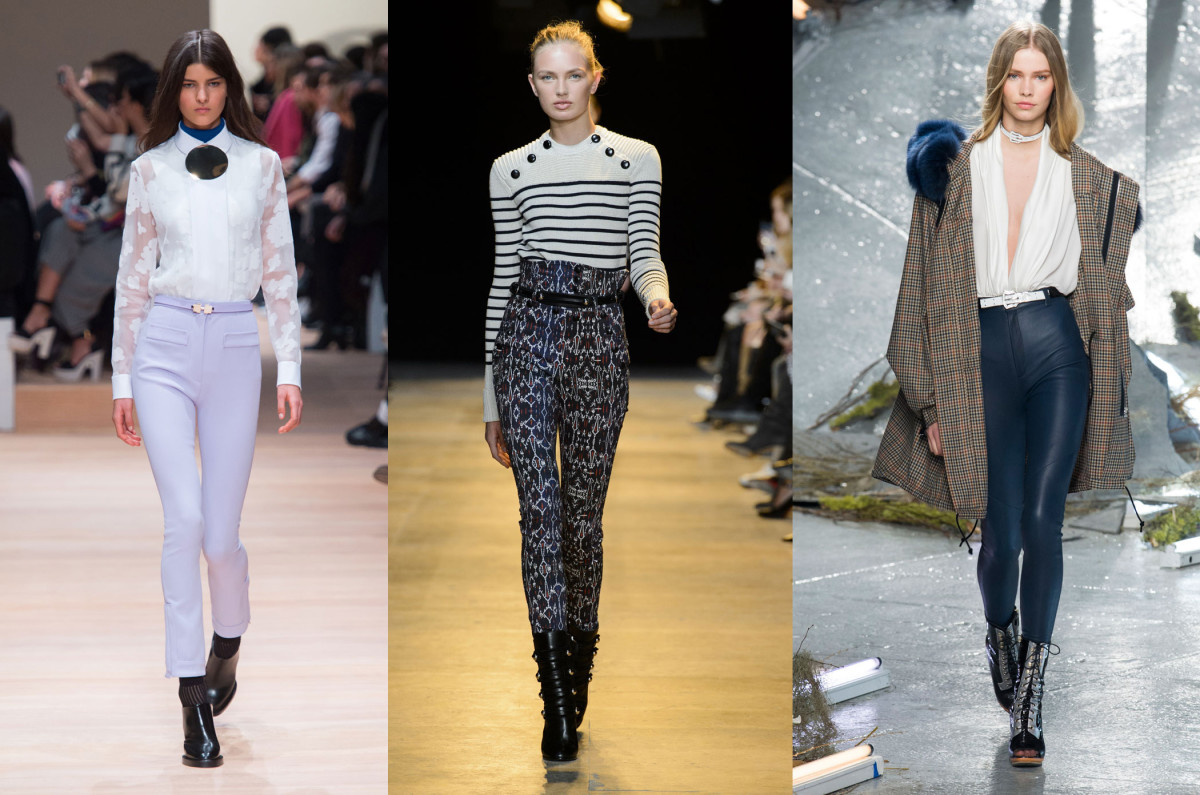 From left to right: Carven, Isabel Marant, Rodarte. Photos: Imaxtree
