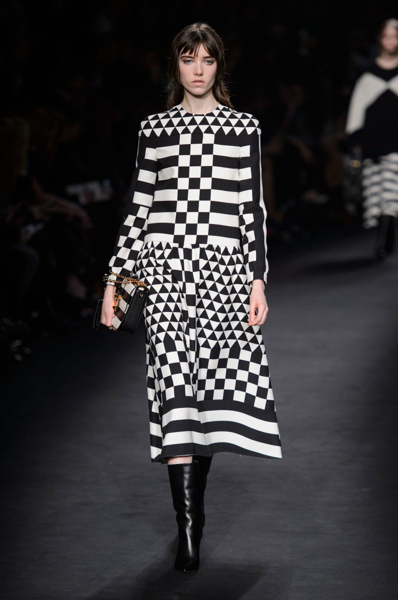 A look from Valentino's fall 2015 collection. Photo: Imaxtree
