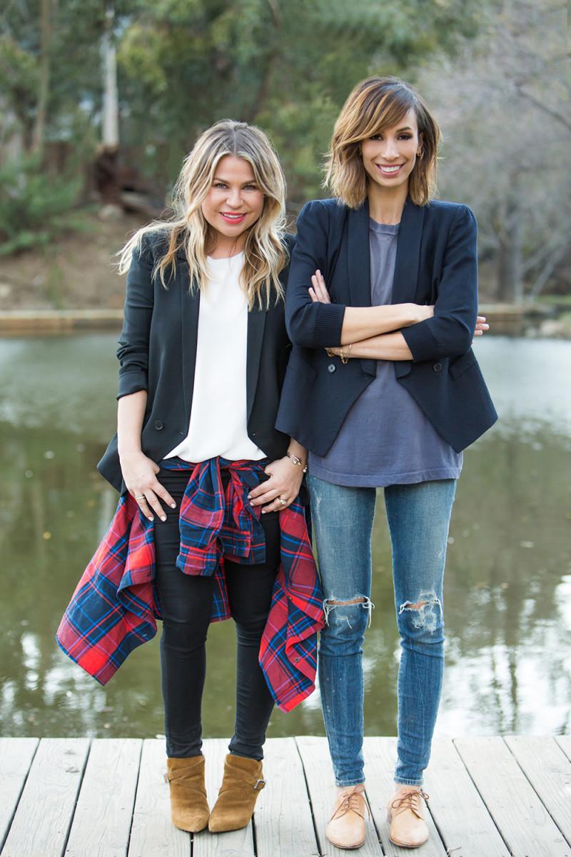 Emily Current, left, and Meritt Elliott, right. Photo: Emily Current and Meritt Elliott