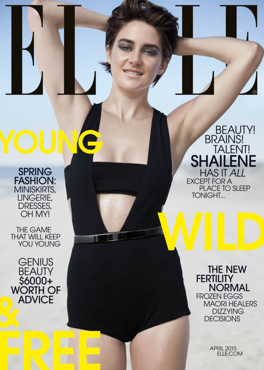 Shailene Woodley. Photo: Elle Magazine