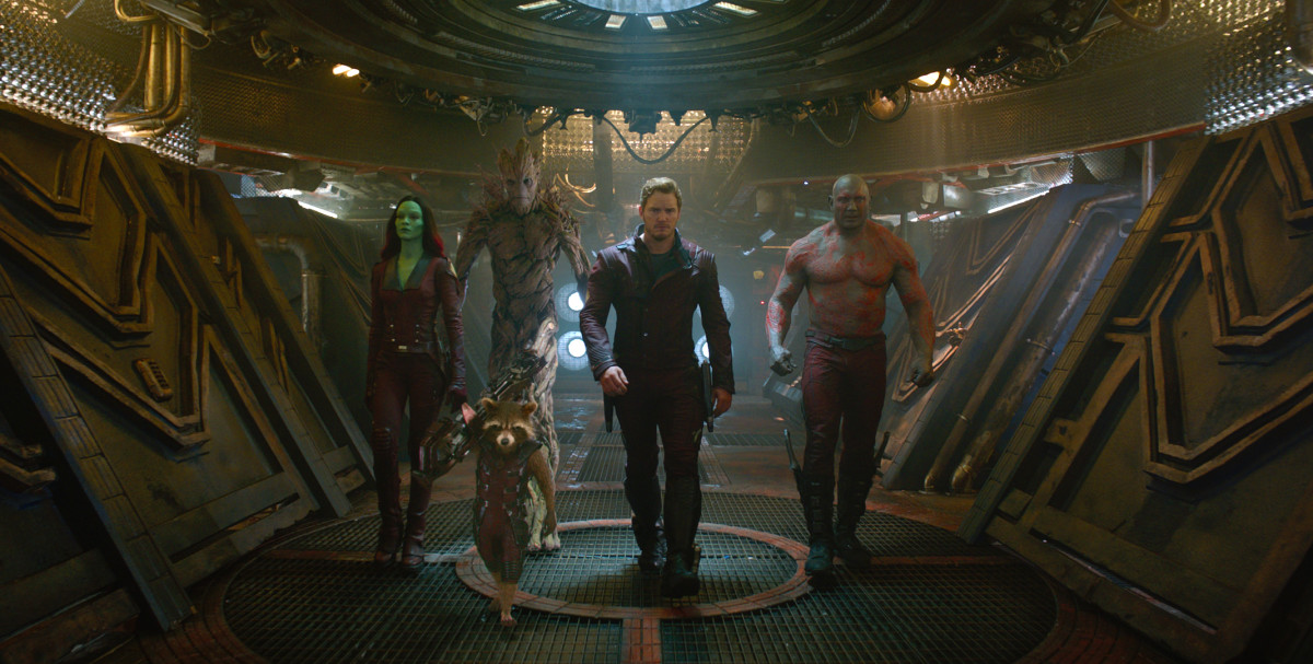 "Peter Quill and his special pants in ""Guardians of the Galaxy."" Photo: Marvel"