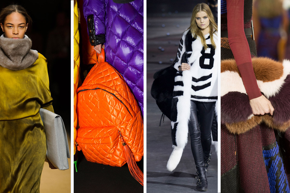 From left to right: Sally Lapointe, Moschino, Philipp Plein and Roksanda. Photos: Imaxtree