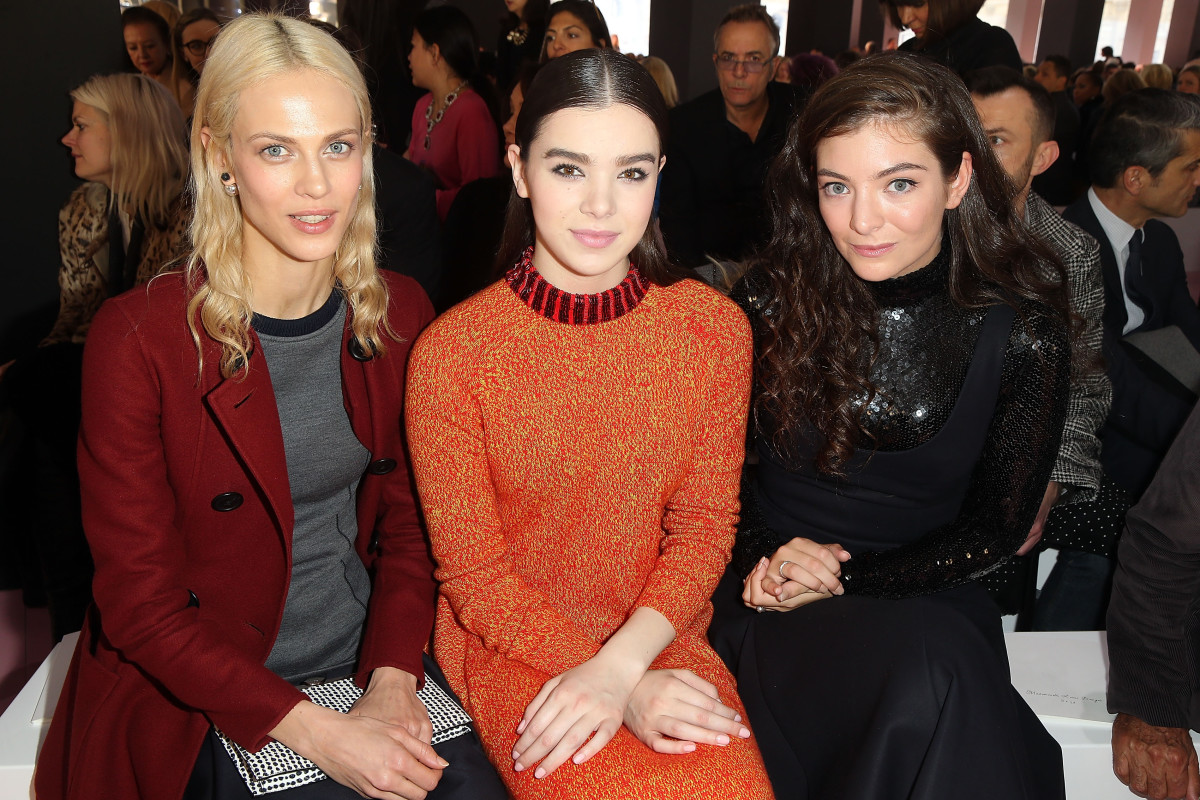 Aymeline Valade, Hailee Steinfeld, Lorde. Photo: Rindoff/Dufour/Getty Images