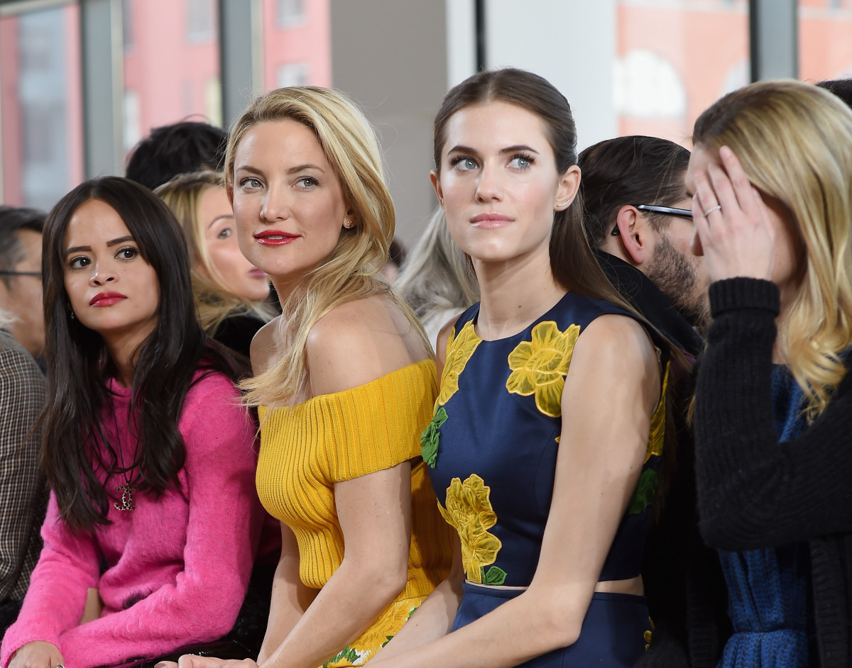 Kate Hudson and Allison Williams. Photo: Dimitrios Kambouris/Getty Images