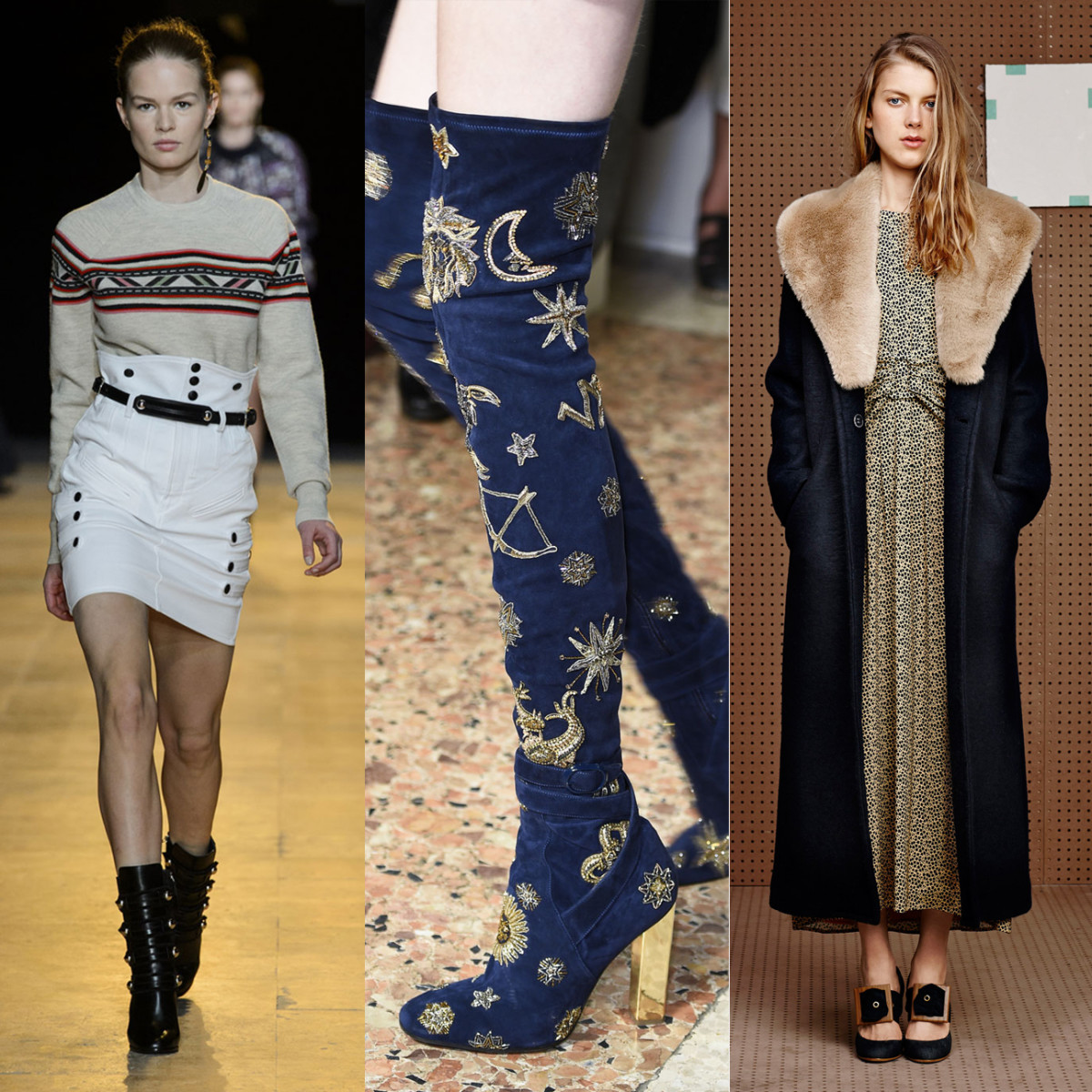 Isabel Marant, Pucci and Band of Outsiders. Photos: Imaxtree and Band of Outsiders
